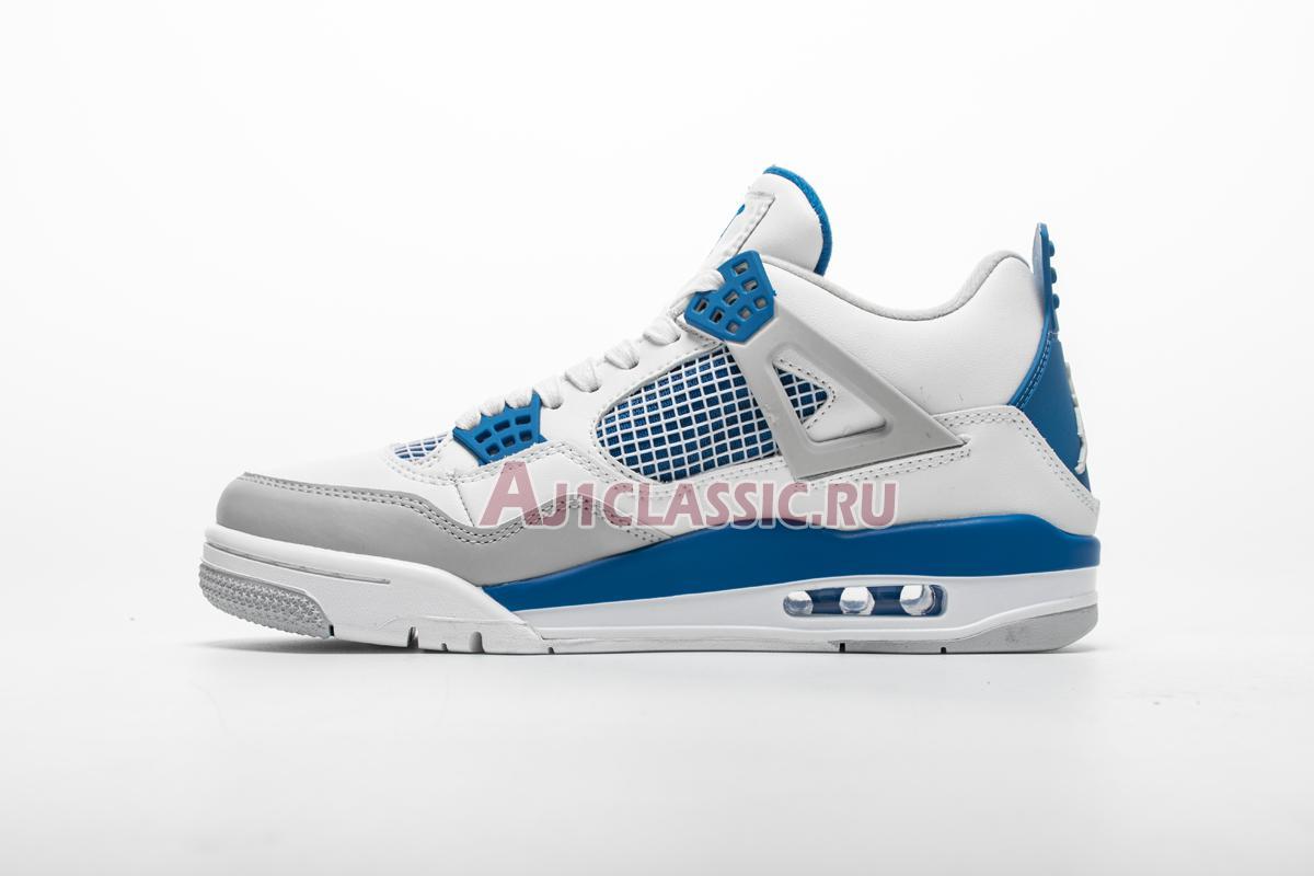 "Air Jordan 4 Retro ""Military Blue 2012"" 308497-105"