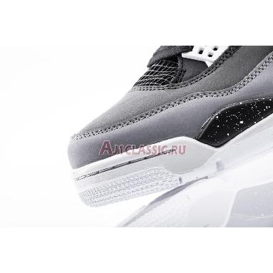 Air Jordan 4 Retro Fear 626969-030 Black/White-Cool Grey-Pr Pltnm Sneakers