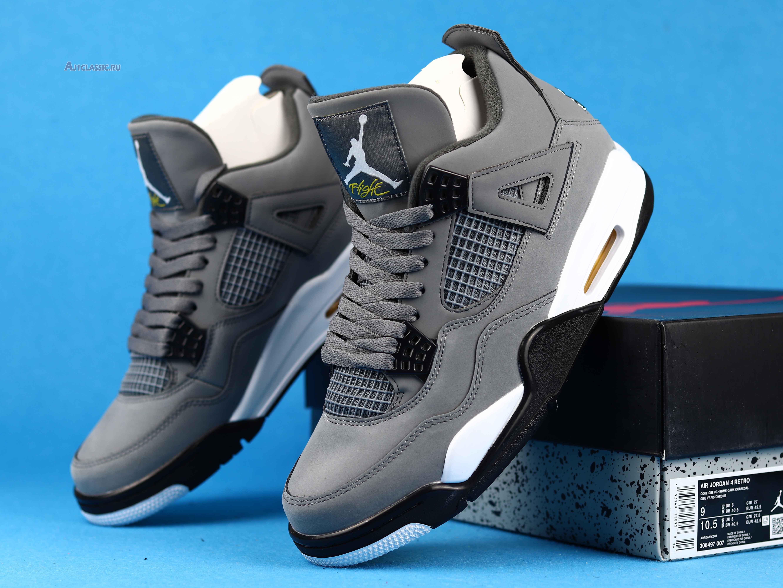 "Air Jordan 4 Retro ""Cool Grey 2019"" 308497-007"