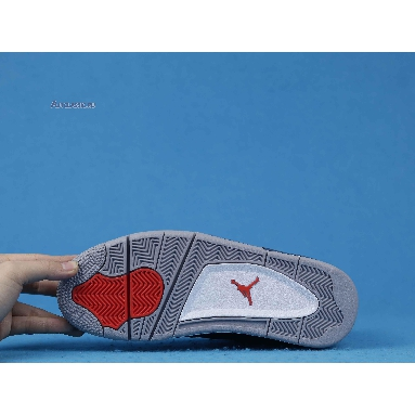 Air Jordan 4 Winter Loyal Blue CQ9597-401 Loyal Blue/White/Habanero Red/Black Sneakers