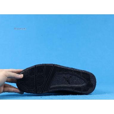 Olivia Kim x Wmns Air Jordan 4 Retro No Cover CK2925-001 Black/Black/Black Sneakers