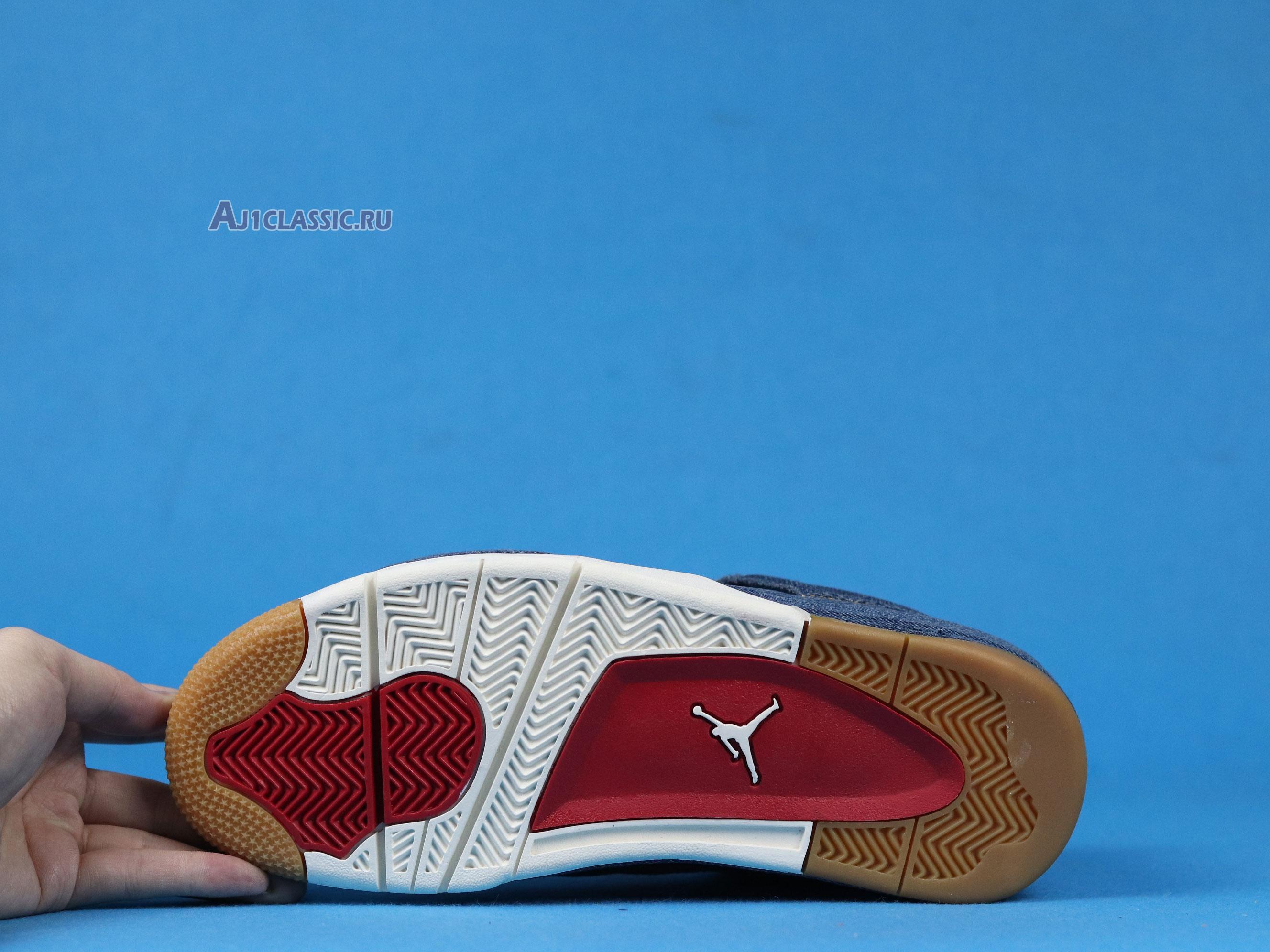 "Levis x Air Jordan 4 Retro ""Denim"" AO2571-401"