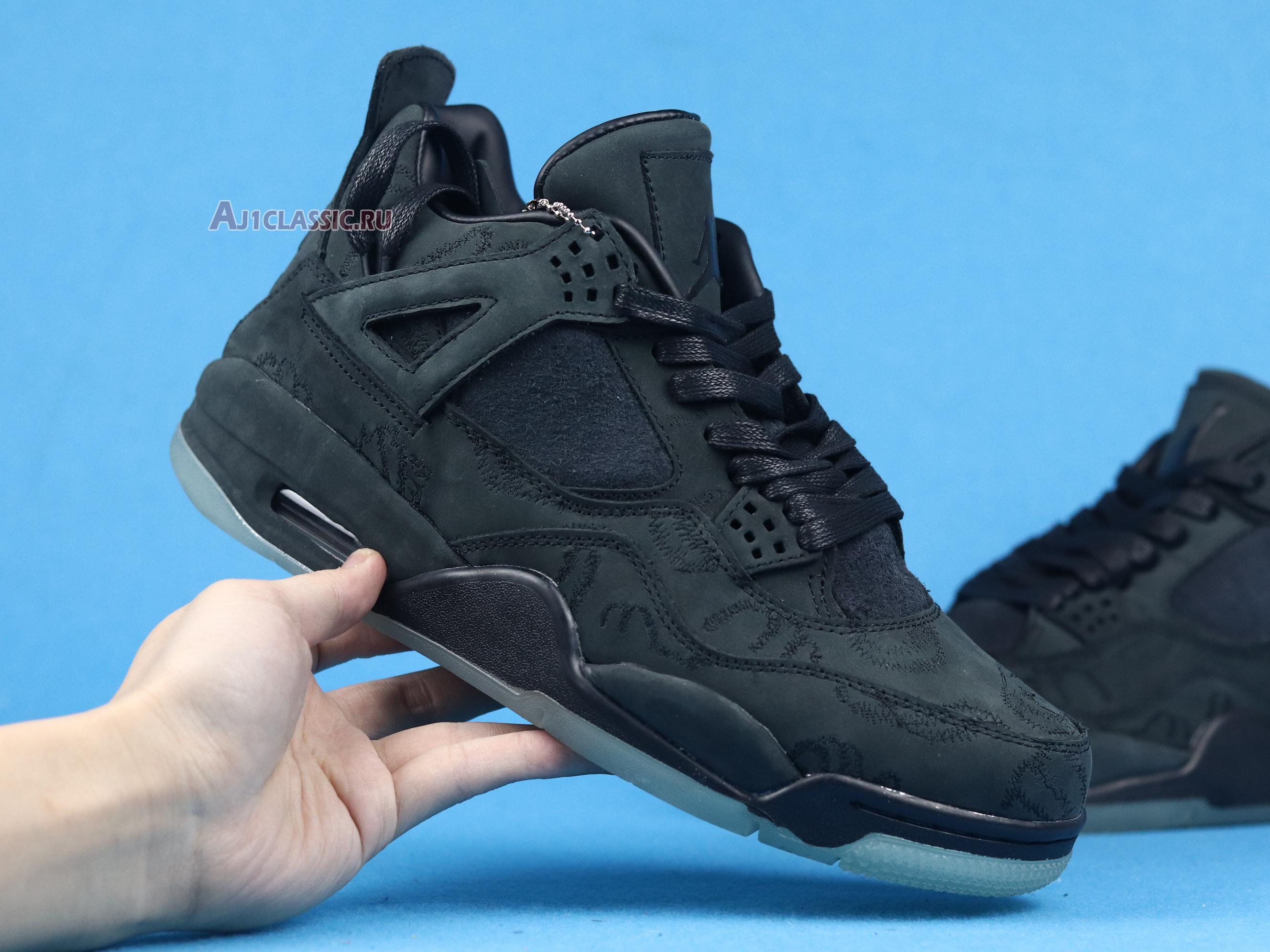 "KAWS x Air Jordan 4 Retro ""Black"" 930155-001"