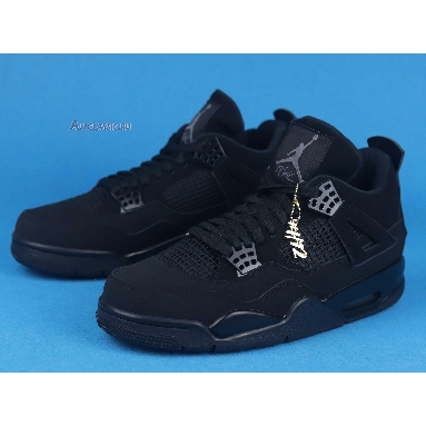 Air Jordan 4 Retro Black Cat 2020 CU1110-010 Black/Black/Light Graphite Sneakers