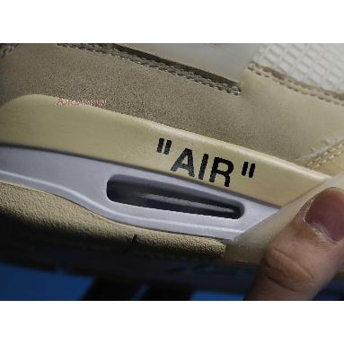 Off-White x Wmns Air Jordan 4 SP Sail CV9388-100 Sail/Muslin/White/Black Sneakers
