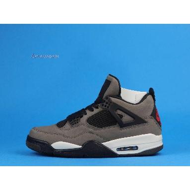 Travis Scott x Nike Air Jordan 4 Dark Mocha AJ4-882335 Dark Mocha/Sail-Cool Grey-Verd Sneakers