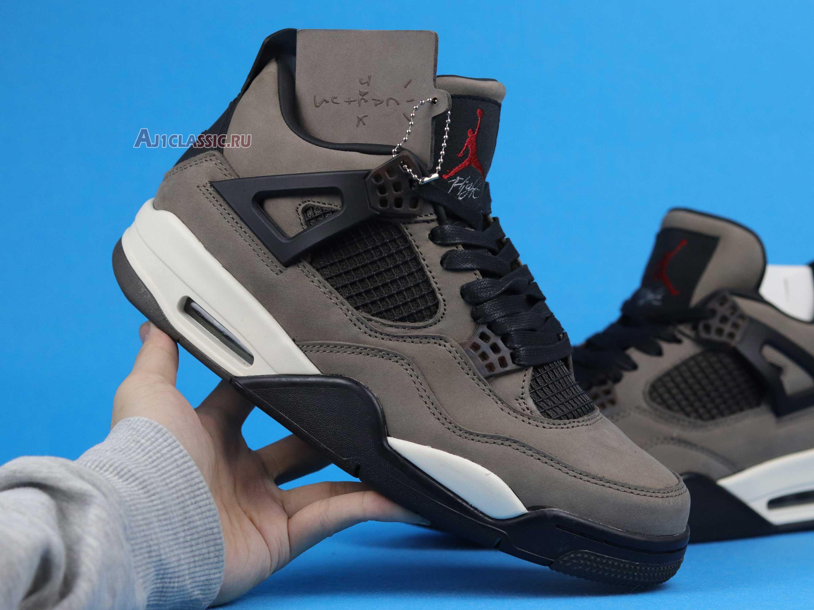 "Travis Scott x Nike Air Jordan 4 ""Dark Mocha"" AJ4-882335"