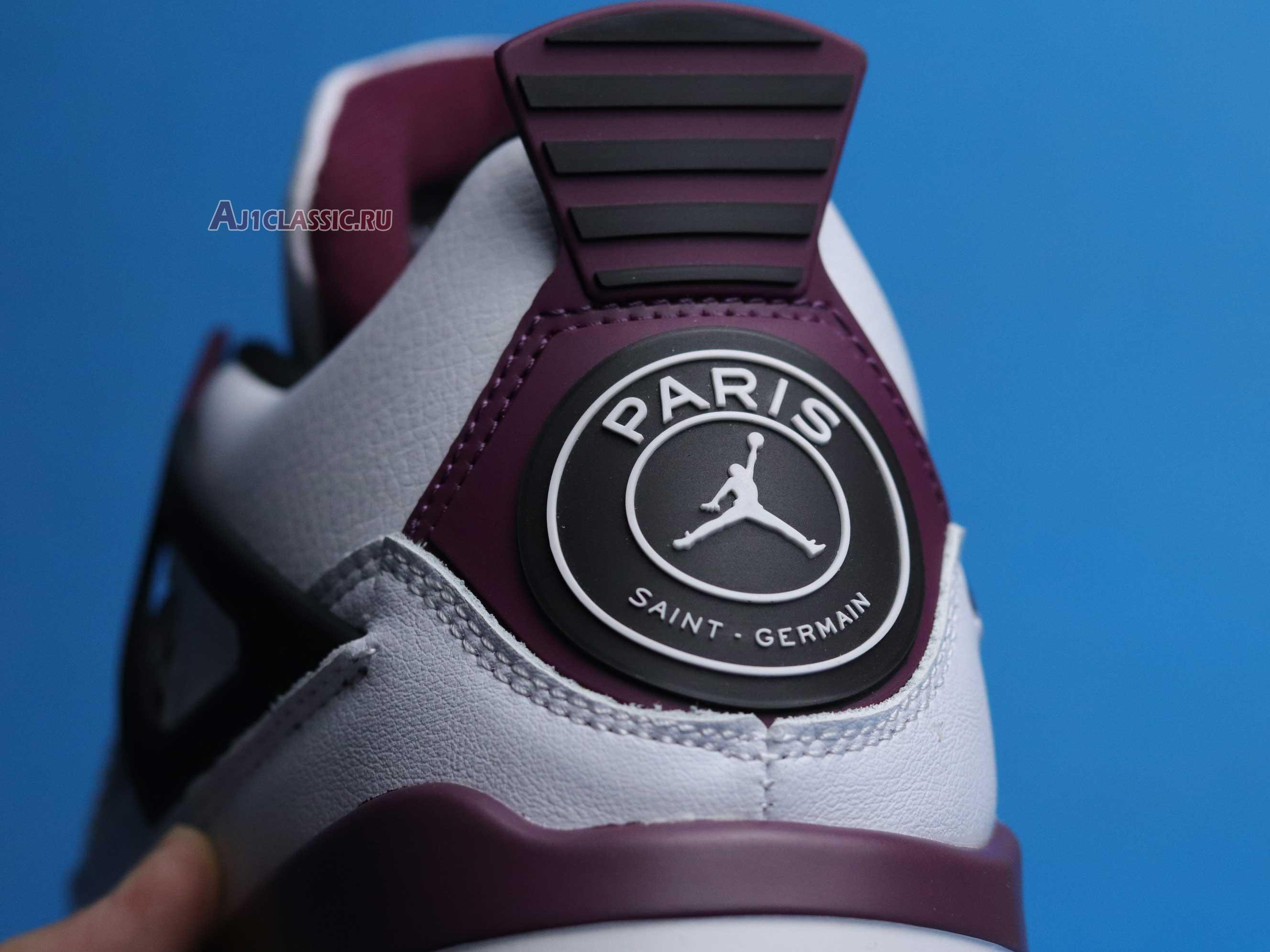 """Paris Saint-Germain x Air Jordan 4 Retro """"Bordeaux"""" CZ5624-100"""