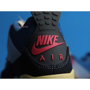 Union LA x Air Jordan 4 Retro Off Noir DC9533-001 Off Noir/Brigade Blue/Dark Smoke Grey/Light Fusion Red Sneakers