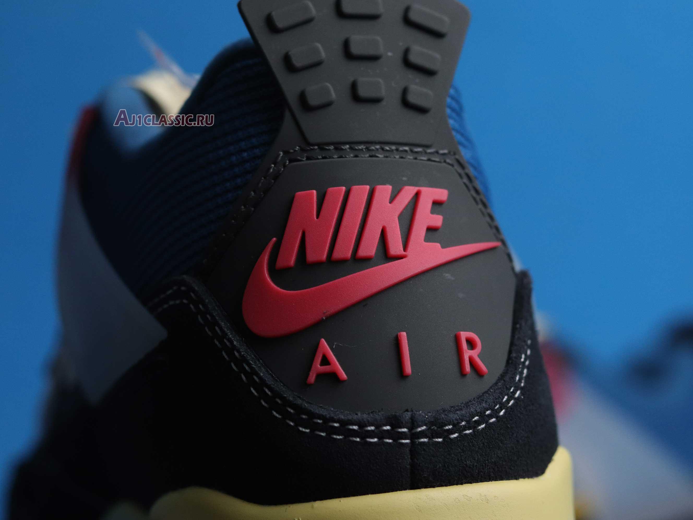 "Union LA x Air Jordan 4 Retro ""Off Noir"" DC9533-001"