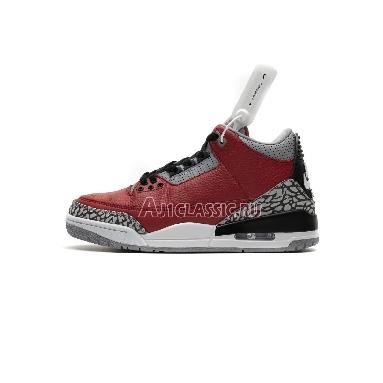 Air Jordan 3 Retro SE Unite CK5692-600 Fire Red/Fire Red/Cement Grey/Black Sneakers