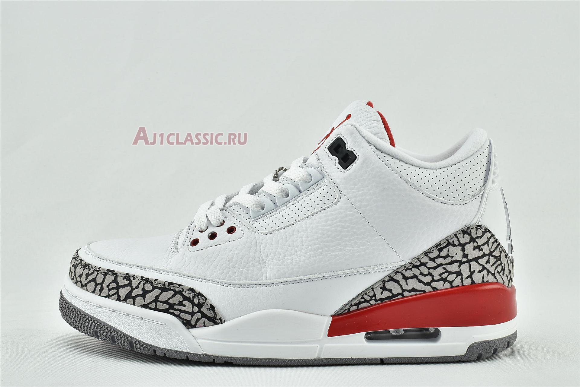 "Air Jordan 3 Retro ""Hall of Fame"" 136064-116"