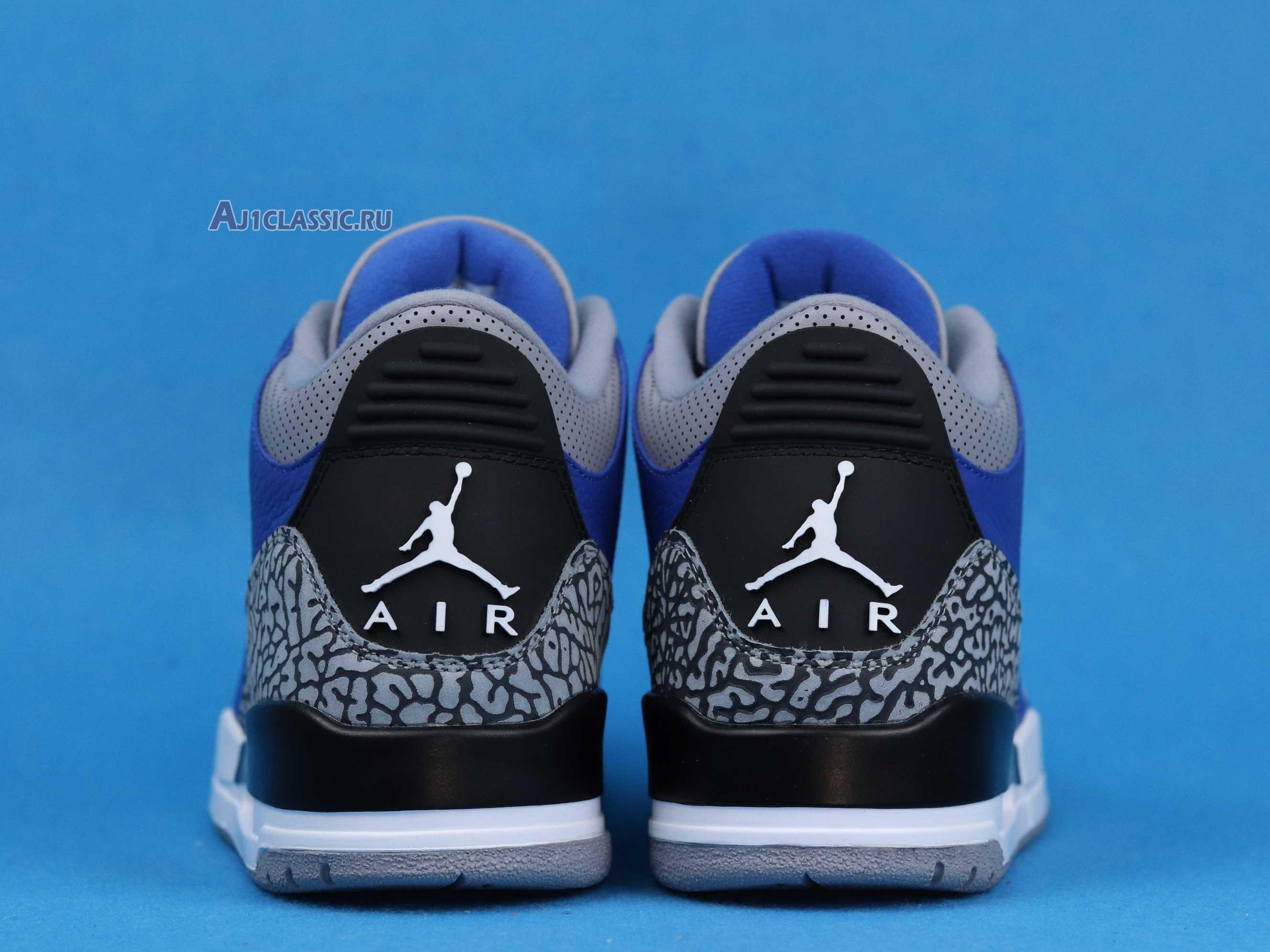 "Air Jordan 3 Retro ""Varsity Royal"" CT8532-400"