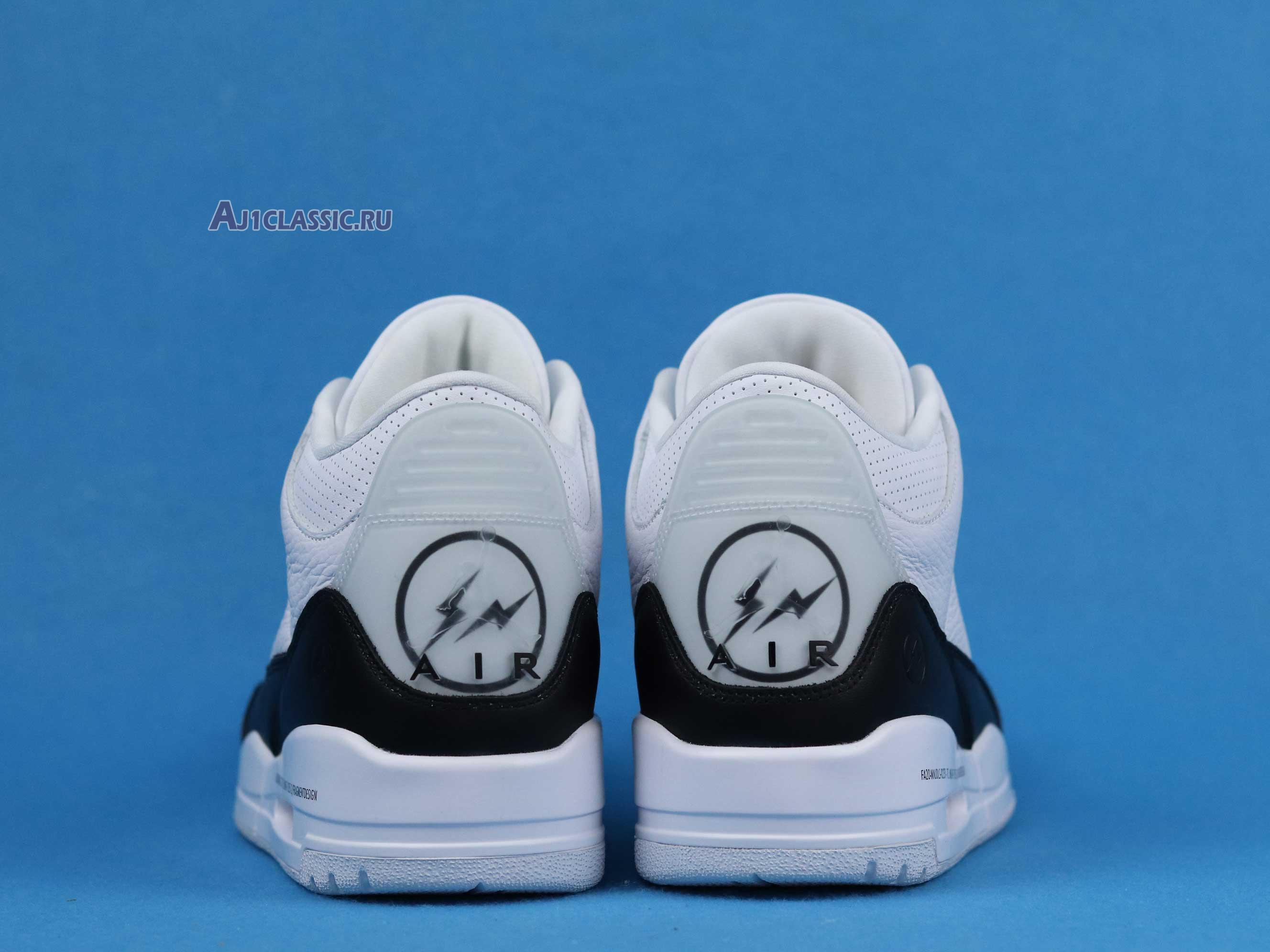 "Fragment Design x Air Jordan 3 Retro SP ""White"" DA3595-100"