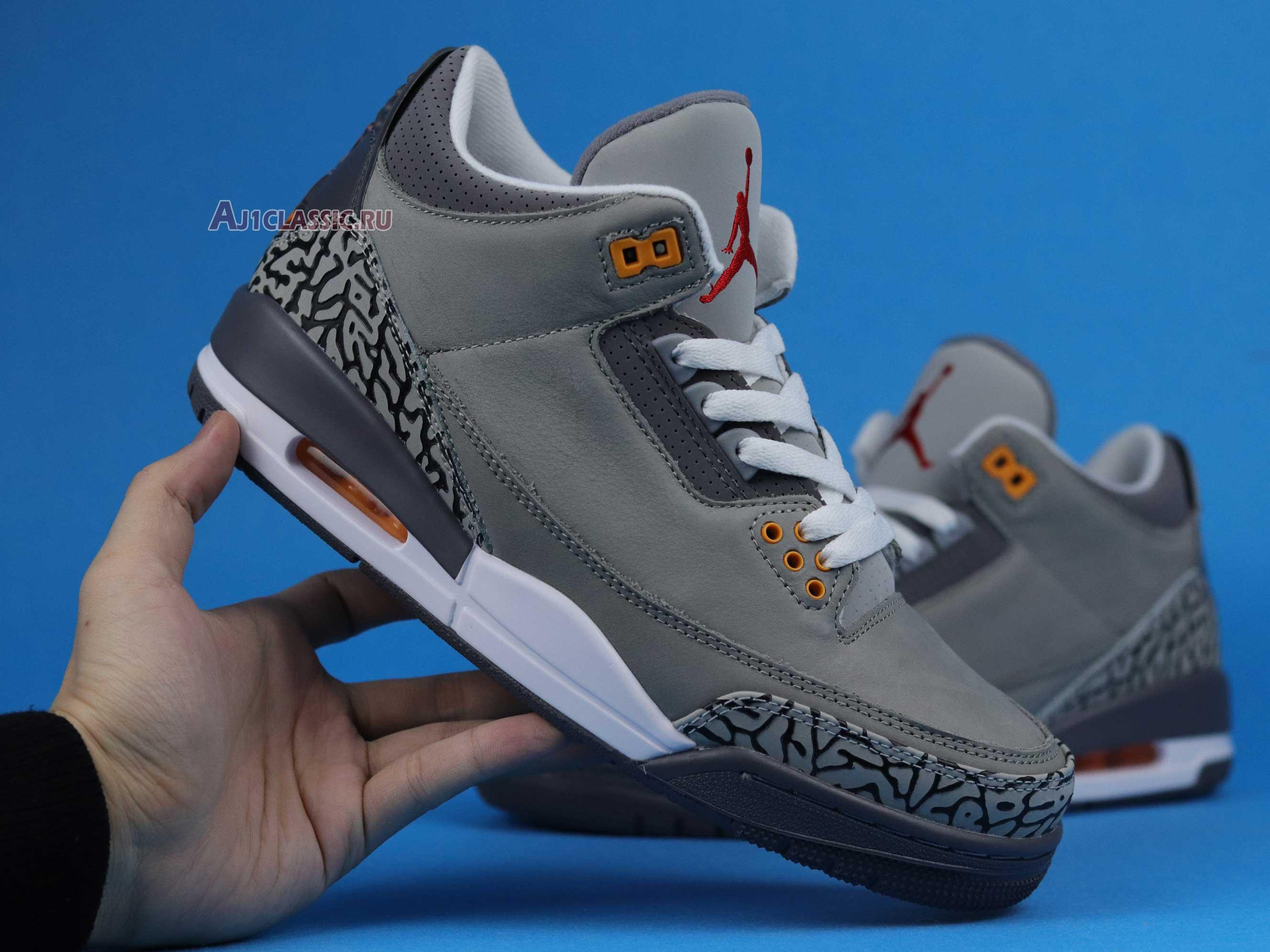"""Air Jordan 3 Retro """"Cool Grey 2021"""" CT8532-012"""