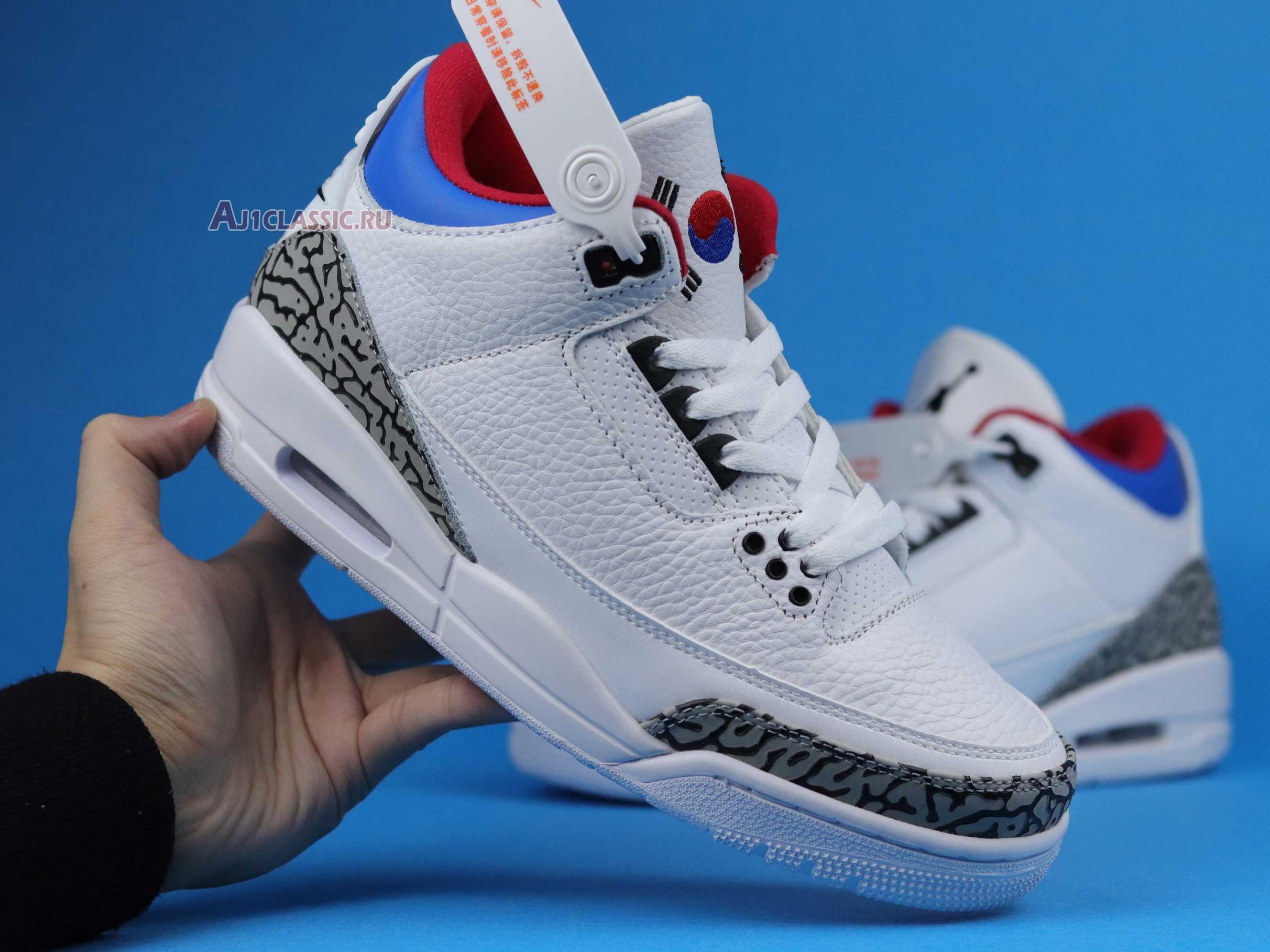 "Air Jordan 3 Retro ""Seoul"" AV8370-100"