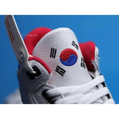 Air Jordan 3 Retro Seoul AV8370-100 White/Soar-Atom Red Sneakers