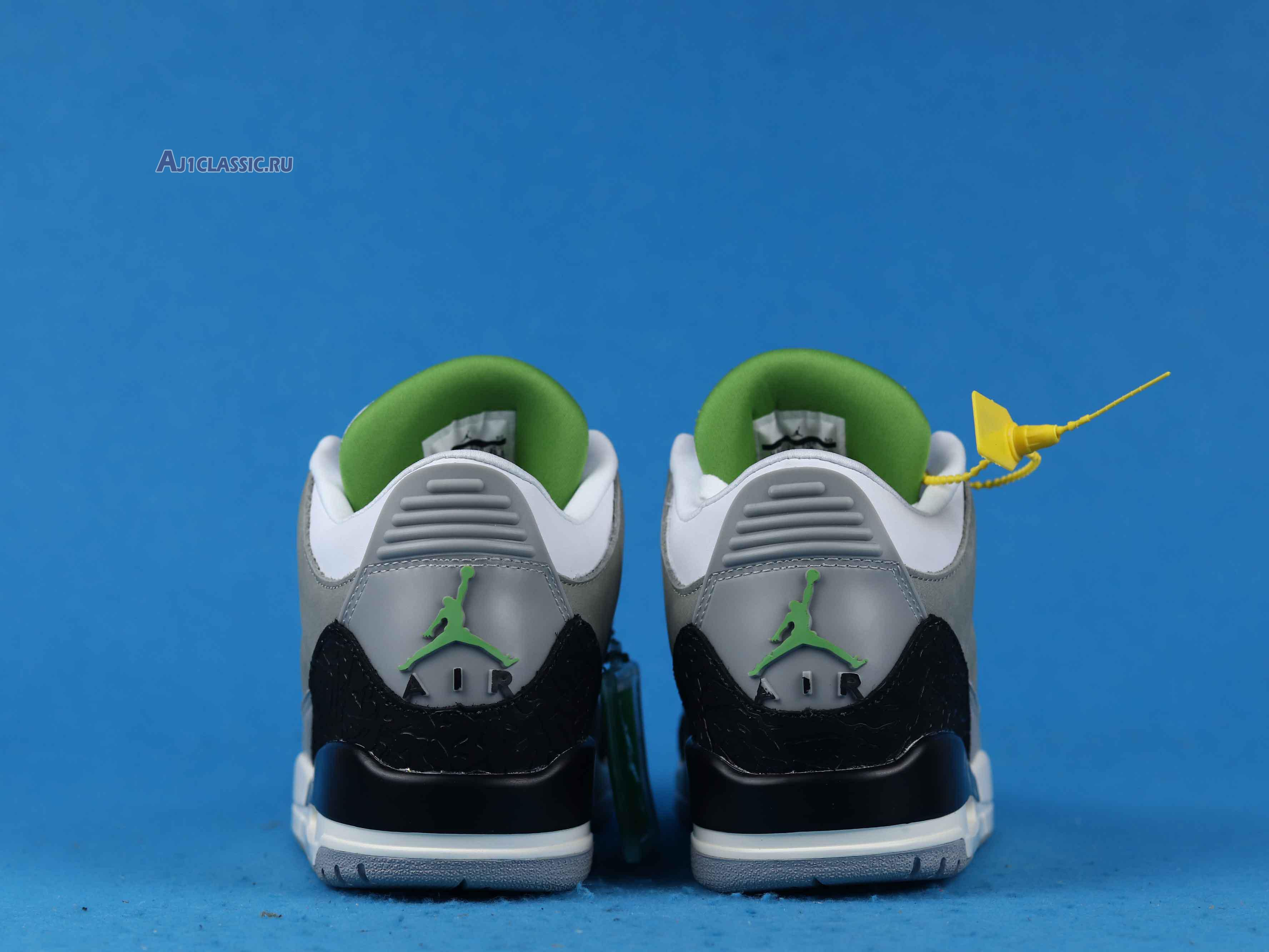 "Air Jordan 3 Retro ""Chlorophyll"" 136064-006"