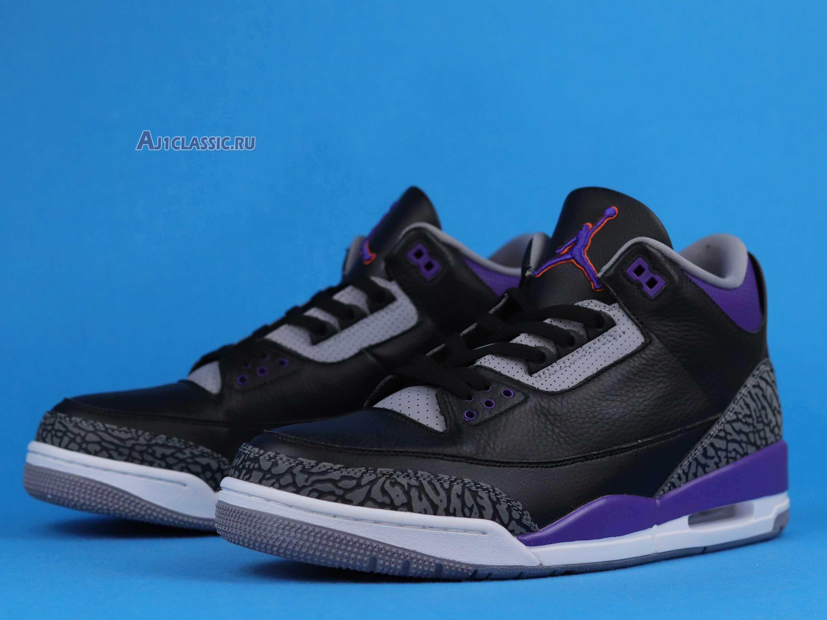 """Air Jordan 3 Retro """"Court Purple"""" CT8532-050"""