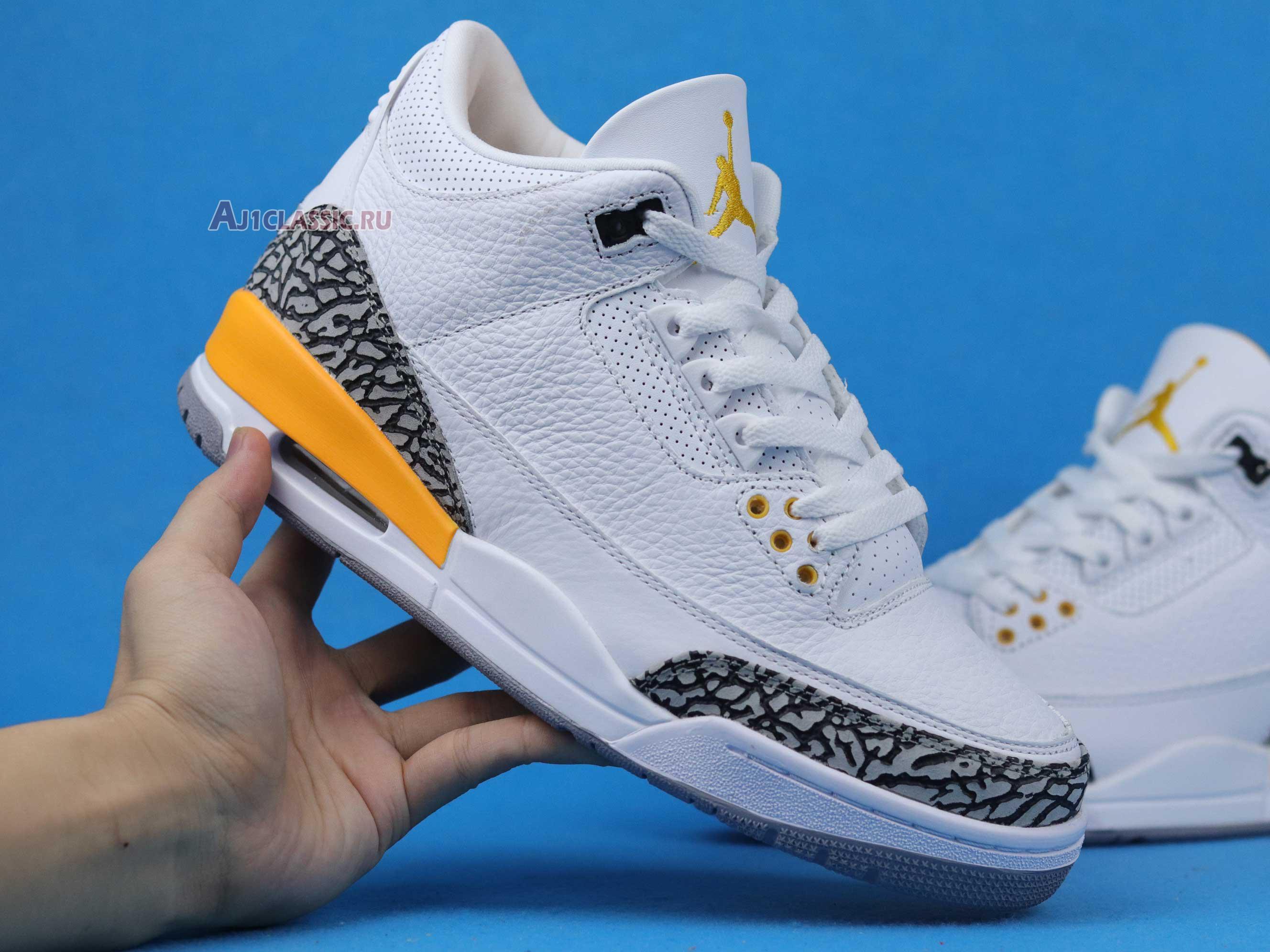 """Air Jordan 3 Retro """"Laser Orange"""" CK9246-108"""