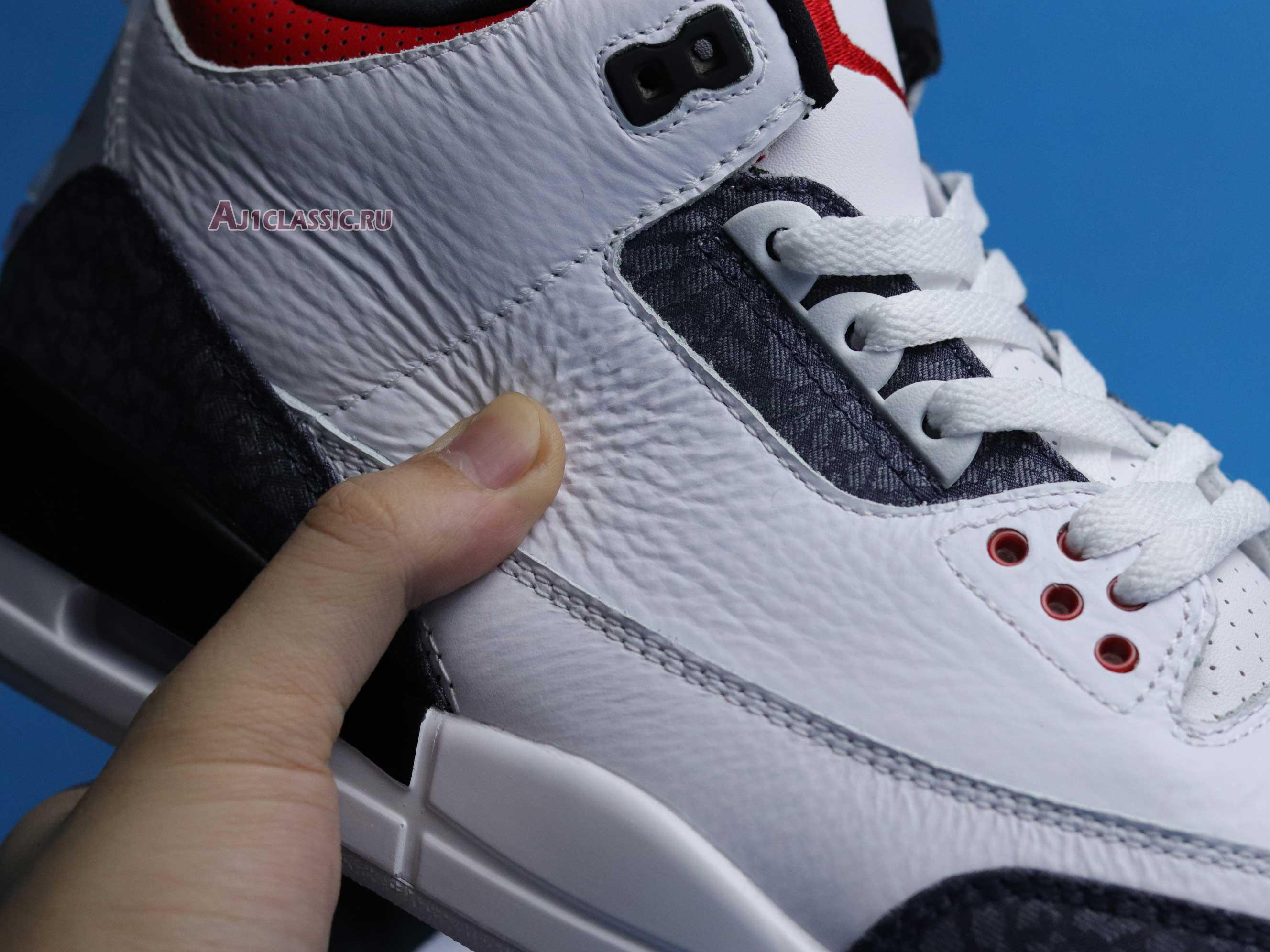 "Air Jordan 3 Retro Denim SE ""Fire Red"" CZ6431-100"