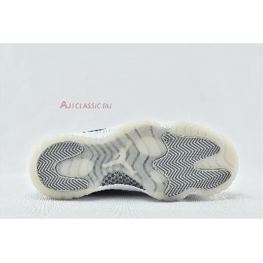 Air Jordan 11 Retro Jubilee 25th Anniversary CT8012-011 Black/Clear/White/Metallic Silver Sneakers