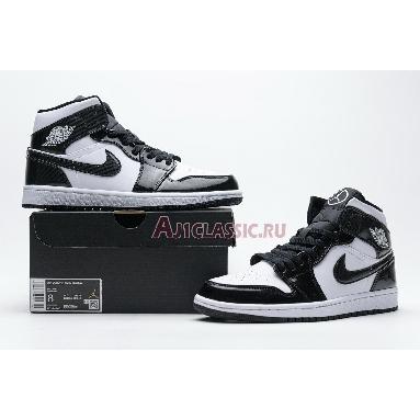 Air Jordan 1 Mid SE All-Star Weekend DD1649-001 Black/White/Black Sneakers