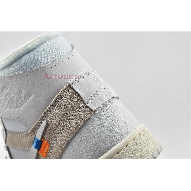 Off-White x Air Jordan 1 Retro High OG White 2018 AQ0818-100-2 White/White Sneakers