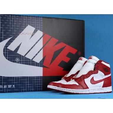 Air Ship PE x Air Jordan 1 High 85 New Beginnings Pack CT6252-900 Multi-Color/White/Red Sneakers