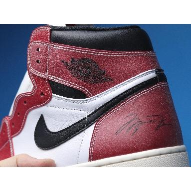 Trophy Room x Air Jordan 1 Retro High OG SP Chicago DA2728-100 White/Sail/Varsity Red/Black Sneakers