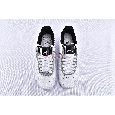 Nike Air Force 1 Low Script Swoosh CK9257-100 White/Black-University Red Sneakers