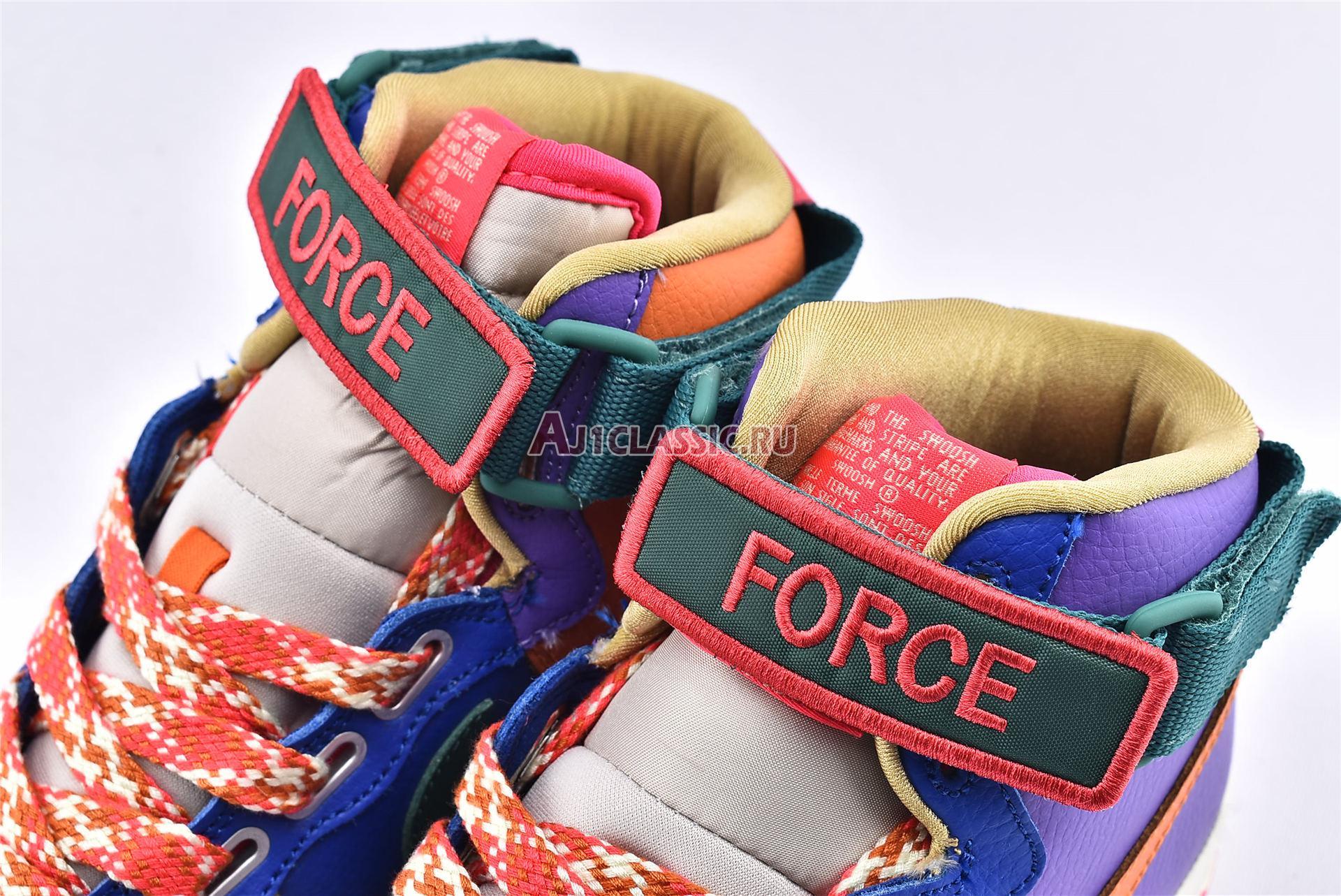 "Nike Air Force 1 High Utility ""Force is Female"" CQ4810-046"