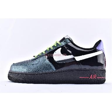 Nike Air Force 1 Low Vandalised Joker CT7359-001 Black/Metallic Silver Noir/Argent Metallioue Sneakers