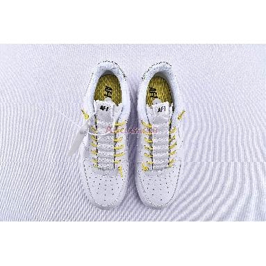 Nike Air Force 1 07 Lux White Reflective 898889-104 White/Chrome Yellow/Black/White Sneakers