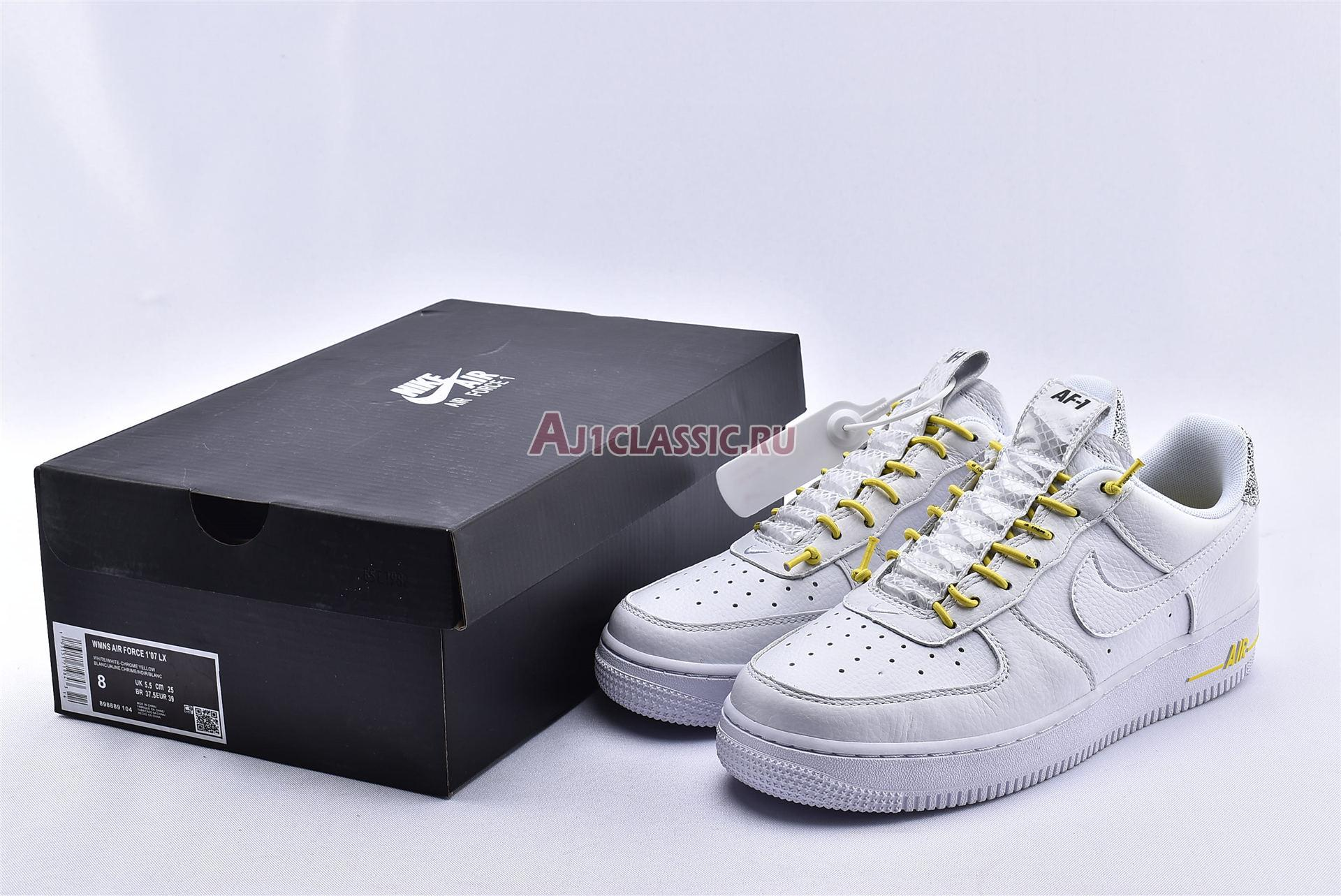 """Nike Air Force 1 07 Lux """"White Reflective"""" 898889-104"""