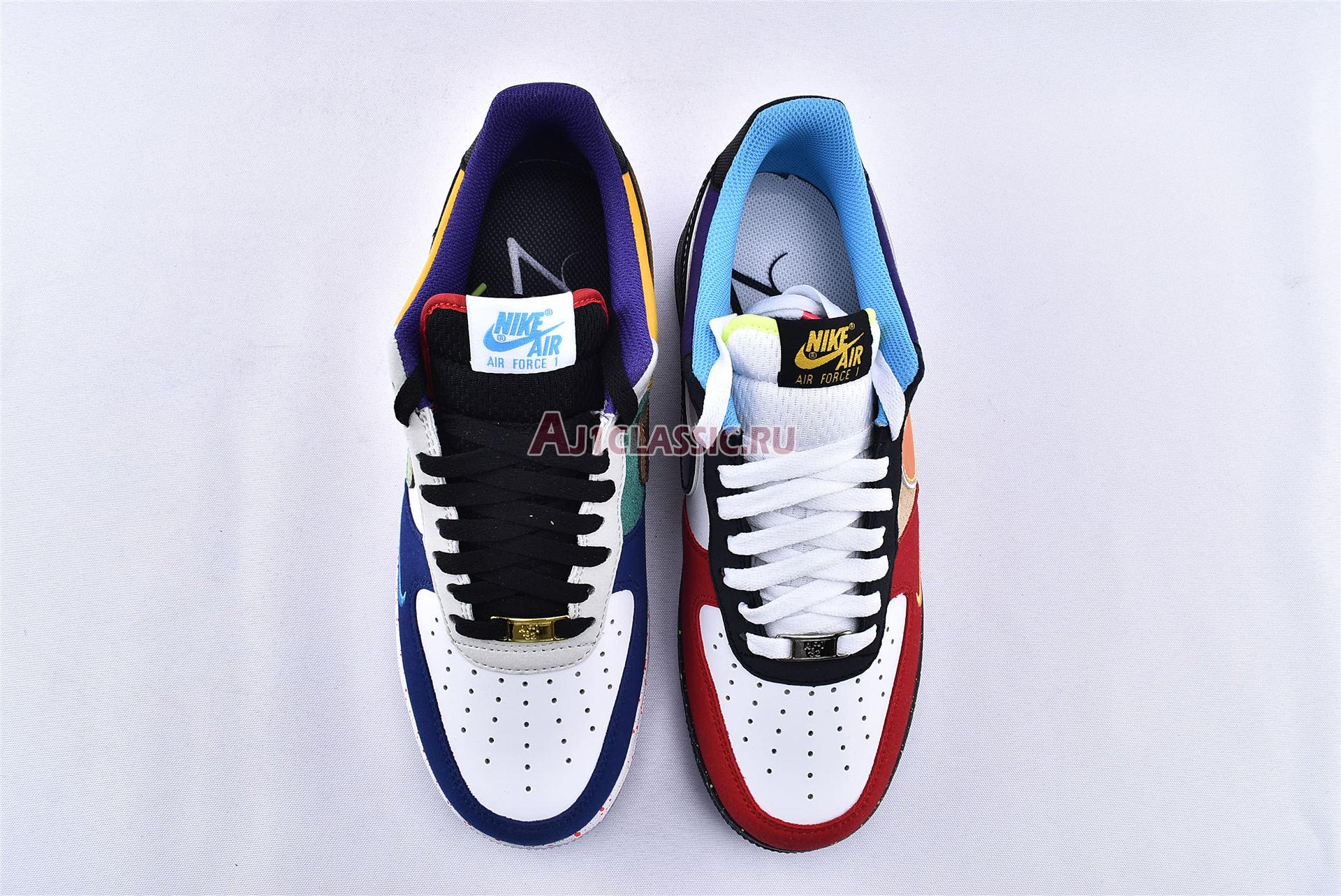 """Nike Air Force 1 07 LV8 """"What The LA"""" CT1117-100"""