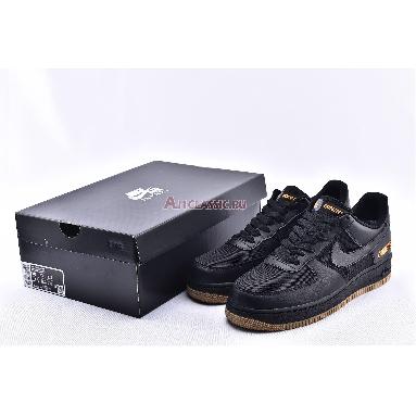 Nike Air Force 1 Low GTX Black CK2630-001 Black/Black/Light Carbon/Bright Ceramic Sneakers
