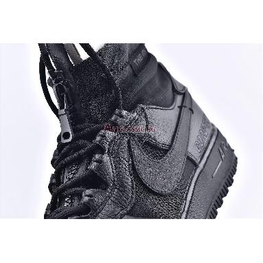 Gore-Tex x Nike Air Force 1 High Triple Black China Exclusive CQ7211-003 Black/Black Sneakers