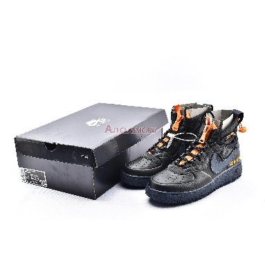 Gore-Tex x Nike Air Force 1 High WTR The 10TH CQ7211-001 Black/Orange/Blue Sneakers