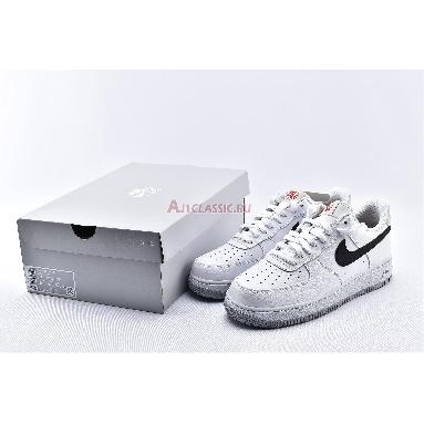 Nike Air Force 1 Low 07 RS Ember Glow CK0806-100 White/Black/Light Bone/Ember Glow Sneakers