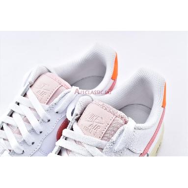 Nike Air Force 1 Low Digital Pink CV3030-100 White/Pink/Orange Sneakers