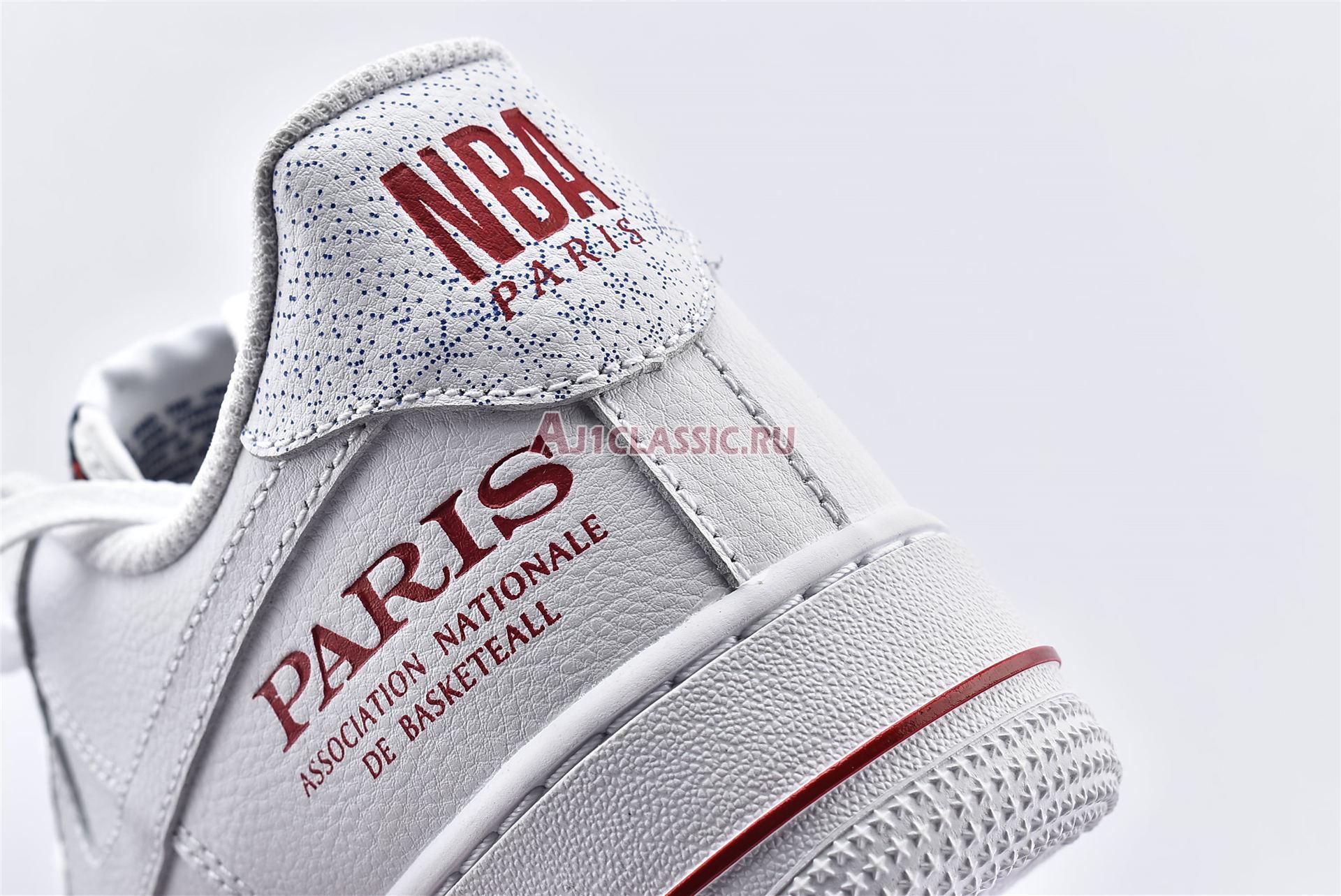 """NBA x Air Force 1 Low """"Paris Game 2020"""" CW2367-100"""