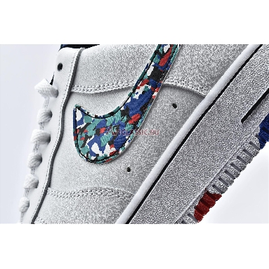 Nike Air Force 1 Low Crayon White Multi CU4632-100 White/Hyper Blue/Neptune Green/Multi-Color Sneakers