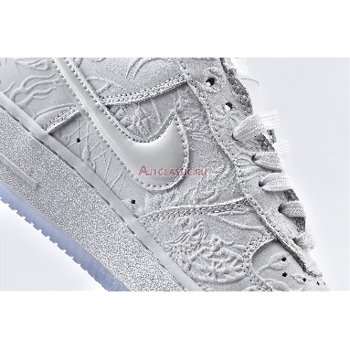 Nike Air Force 1 Low Year of the Rat CU8870-117 White/Multi Color Sneakers