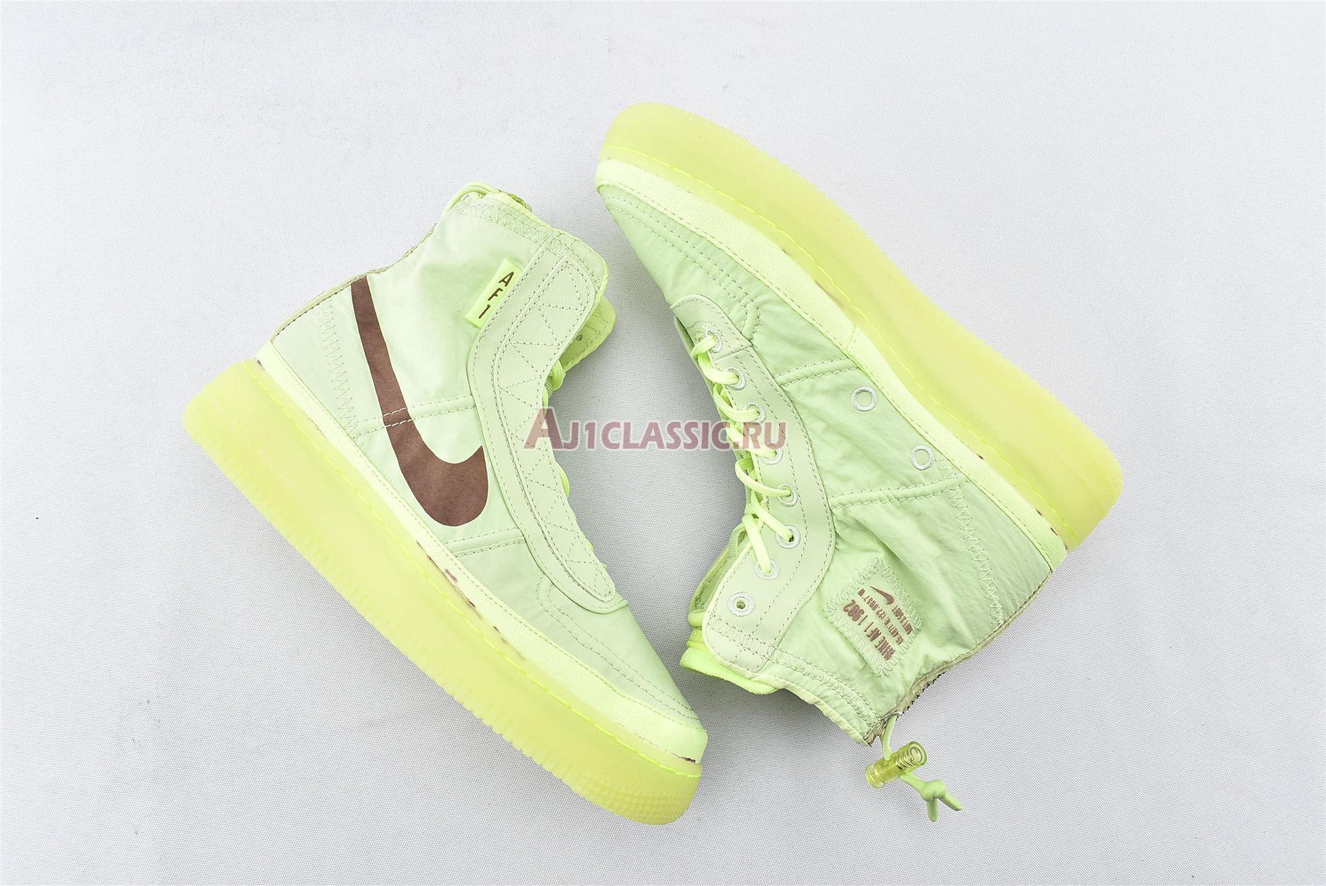 "Nike Wmns Air Force 1 High Shell ""Volt"" BQ6096-700"