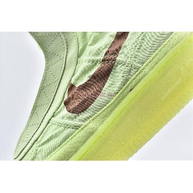 Nike Wmns Air Force 1 High Shell Volt BQ6096-700 Barely Volt/Desert Dust Volt Descret Sneakers