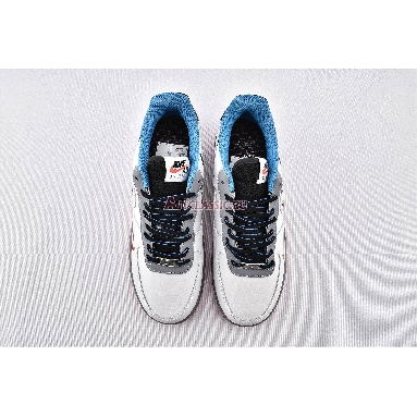 Nike Air Force 1 Low Time Capsule CT1620-100 White/Red/Black/Grey/Blue Sneakers