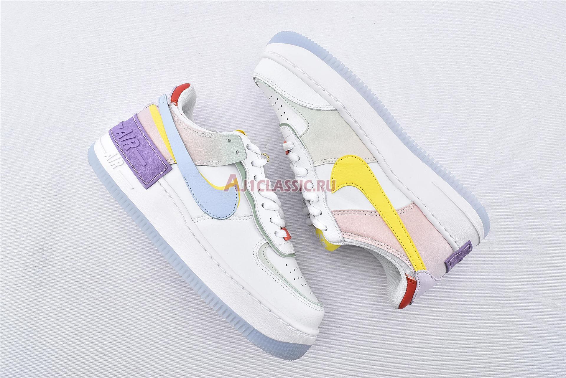 "Nike Wmns Air Force 1 Shadow ""White Hydrogen Blue"" CW2630-141"