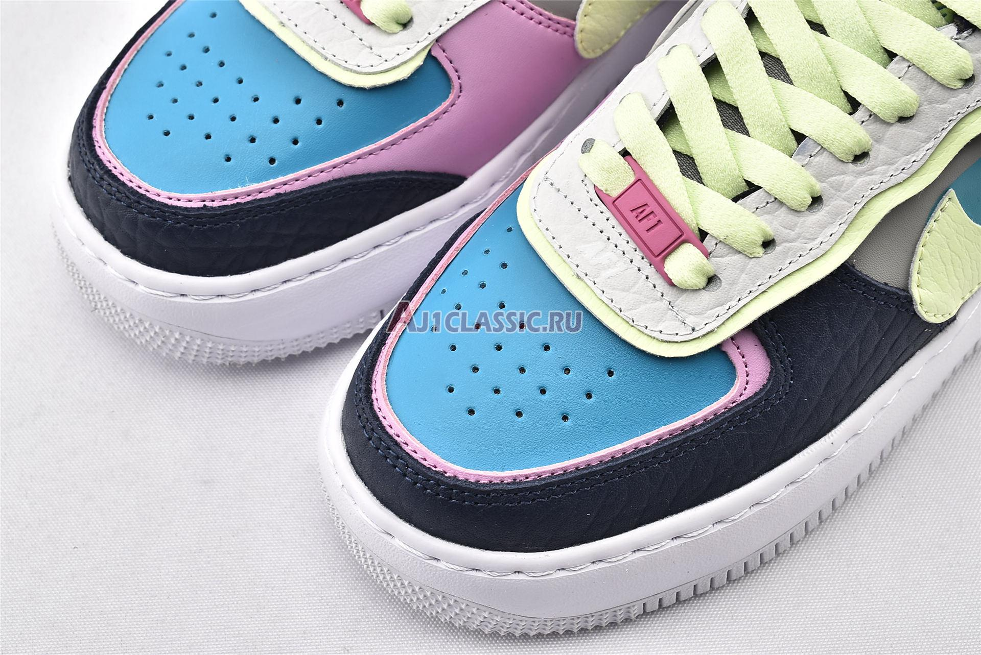 """Nike Wmns Air Force 1 Shadow """"Multi-Color"""" CK3172-001"""