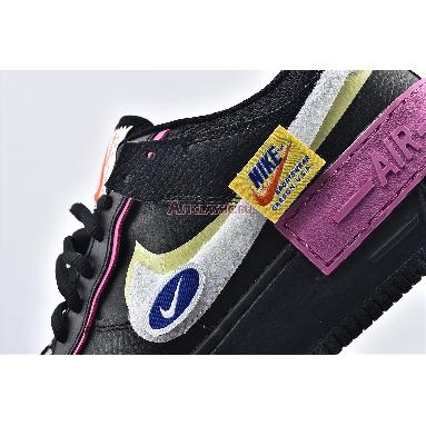 Nike Wmns Air Force 1 Shadow Cosmic Fuchsia CU4743-001 Black/Limelight/Cosmic Fuchsia/White Sneakers